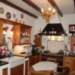 Küche mit Naturholz