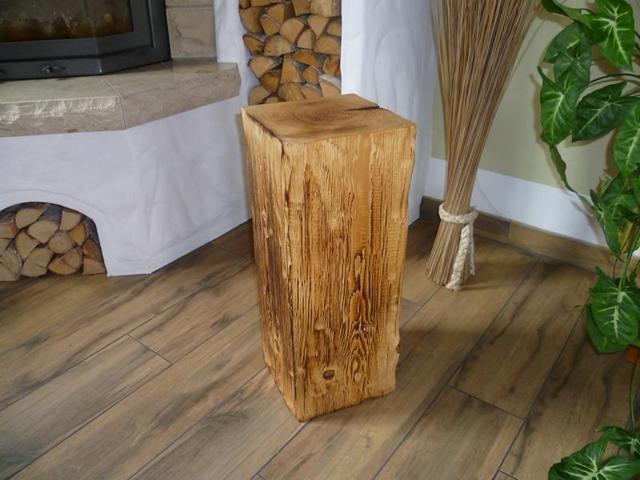Holzstehle aus Rustikalen Balken