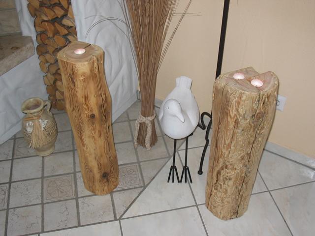Landhaus Stehlen mit Kerzen...